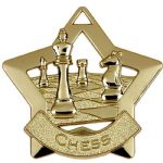 Chess Star Medal 60mm AM714